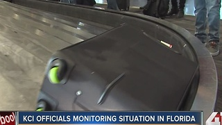 KCI officials monitoring situation in Florida - Video