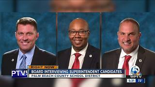 Meeting to pick new Palm Beach County Superintendent of Schools - Video