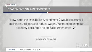 Florida Governor on Amendment 2
