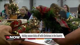 Holiday season kicks off with Christmas in the Country - Video