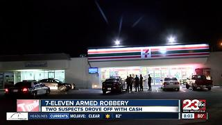 7-Eleven robbed at gunpoint - Video