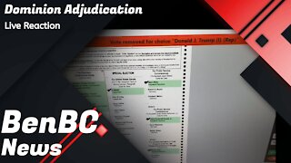 BenBC Live Reaction - Dominion Voting Systems Adjudication in Coffee, Georgia. ELECTION FRAUD?