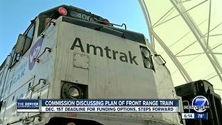 Colorado officials brainstorm Front Range rail service - Video