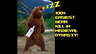 100% Chance for a Bear Kill in Medieval Dynasty Easily! (Glitch ;)