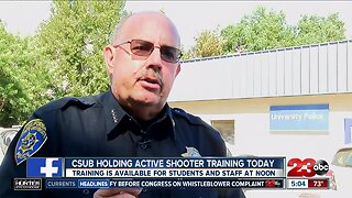 CSUB holds active shooter training for staff and students