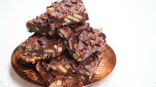 Paul A. Young's delicious chocolate tiffin recipe - Video