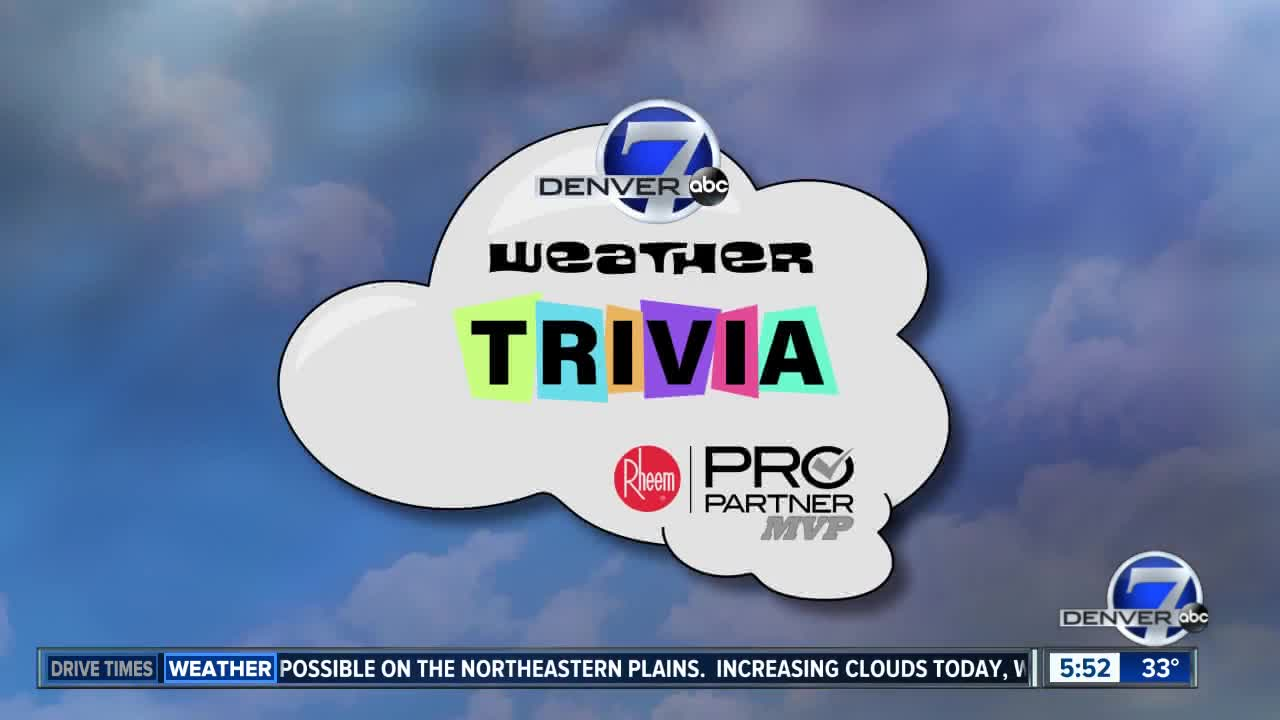 Weather trivia: How much snow has Denver gotten so far?