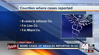 10 cases of measles reported in Kansas - Video