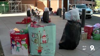 Children's Cancer Networks spreads christmas cheer