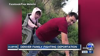 ICE detains Denver Dad - Video