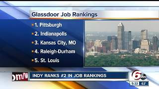 Indianapolis named No. 2 city in country for jobs - Video