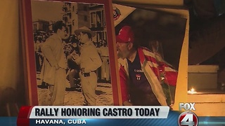 Government, schools closed in Cuba to honor Fidel Castro - Video