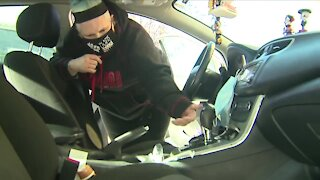 Denver woman says someone stole face masks from her car