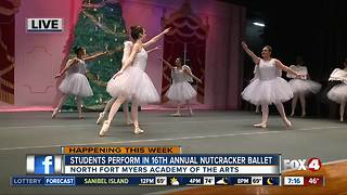 Students perform in 16th Annual Nutcracker Ballet - Video