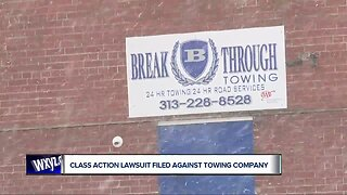 Class action lawsuit filed against towing company