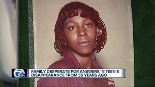 Family desperate for answers in teen's disappearance from 35 years ago - Video