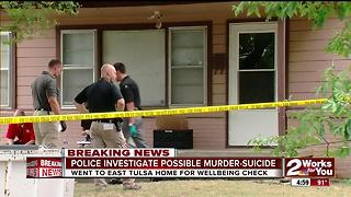 Possible murder-suicide in East Tulsa - Video