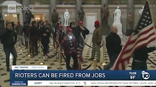 Legal expert: Rioters can be fired from jobs