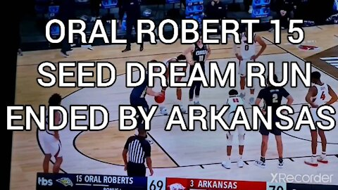DREAM RUN ENDED BY ARKANSAS