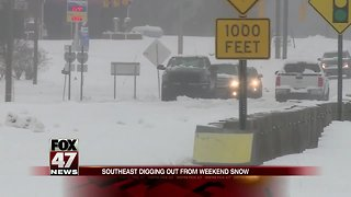 Winter storm clears after leaving 3 dead, tens of thousands still without power