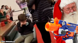 Merry Christmas: Mall Santa Tells Kid He Cannot Wish For A Nerf Gun, Sends Him Into A Fit of Tears