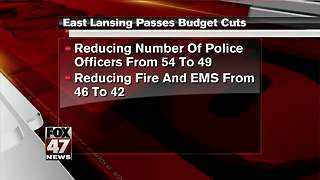 East Lansing passes budget cuts - Video