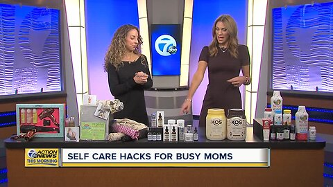 Self Care Hacks for Busy Moms
