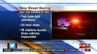 BPD continues efforts to stop street racing