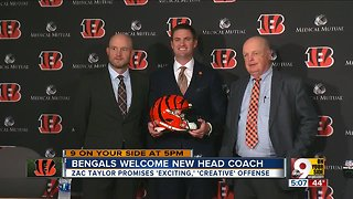 With Zac Taylor, Bengals (finally) look toward the future