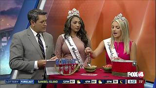 Talking watermelons with the national and state watermelon queens - Video