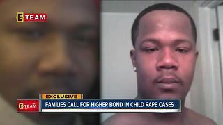 Family pushes for stiffer bond requirements for suspects charged with raping children - Video