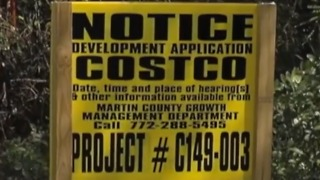 Palm City residents fight proposed Costco - Video