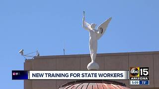 Arizona state employees starting new sexual harassment training - Video