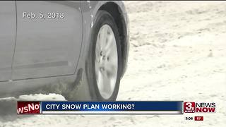 Is Omaha's snow plan working? - Video