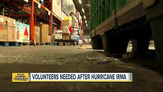 Charitable organizations call on volunteers to help three weeks after Hurricane Irma - Video