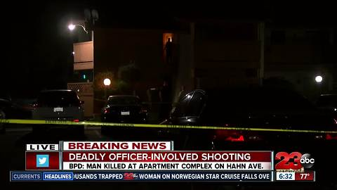 One dead after officer involved shooting