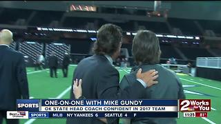 Big Al One-on-One with Mike Gundy at Big 12 Media Days - Video