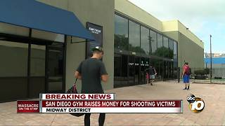 San Diego gym raises money for shooting victims - Video