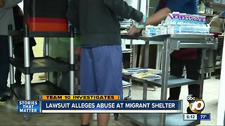 Lawsuit alleges abuse at migrant shelter