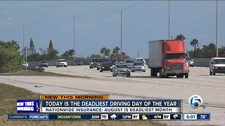 Study: August is the deadliest driving month of the year - Video