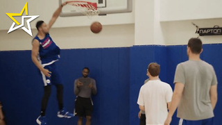 Ben Simmons Goes Full Beast Mode During Pre-Draft Workout With Philadelphia 76ers - Video