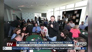 Charity Series of Poker happening today