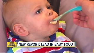 Report: Lead in 20% of baby food samples tested - Video