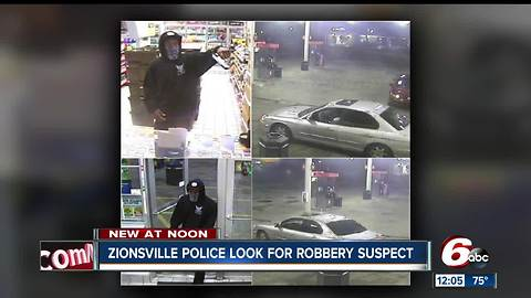 Zionsville gas station clerk refuses to give up register, robber steals Riley donation jar