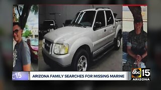 Arizona family searches for missing Marine