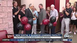 Faith Lutheran reveals new facilities - Video