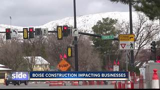 Road Projects are Causing Traffic Headaches in the Treasure Valley - Video