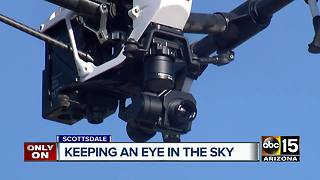 Scottsdale police has operable drone program - Video