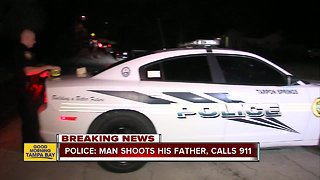 Police: Man shoots his father, calls 911