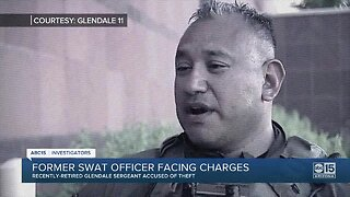 Former Glendale SWAT leader charged with falsifying timecard